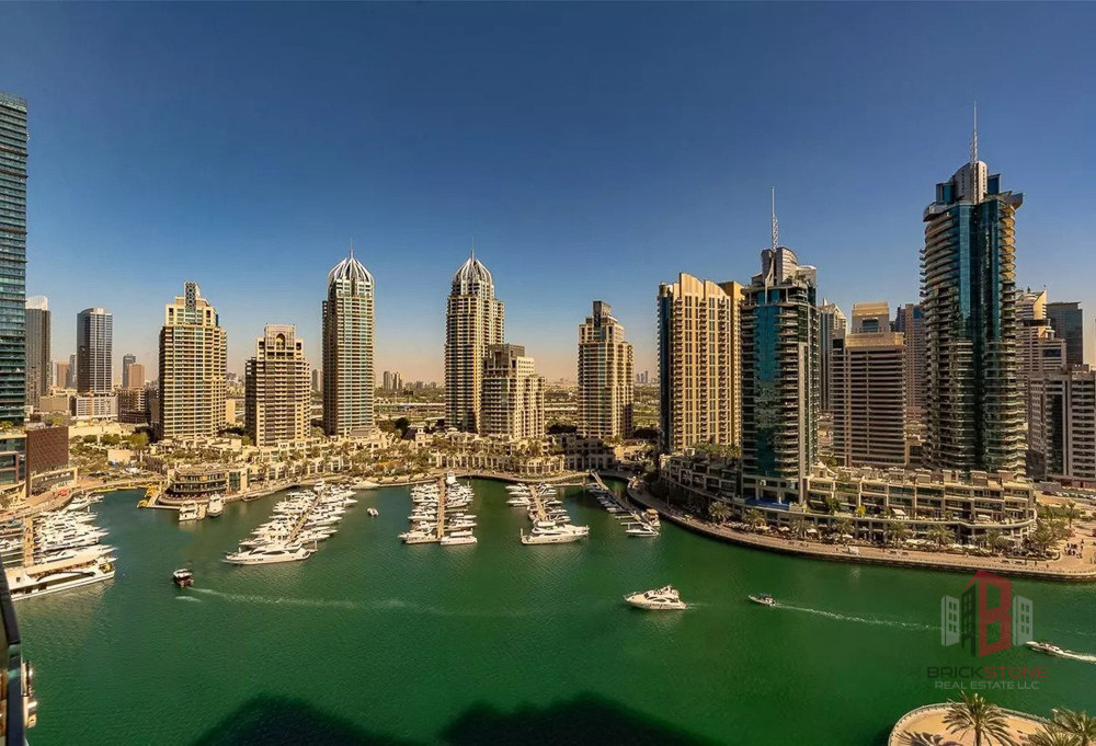Stunning Marina View | Luxurious 1BR | Huge size