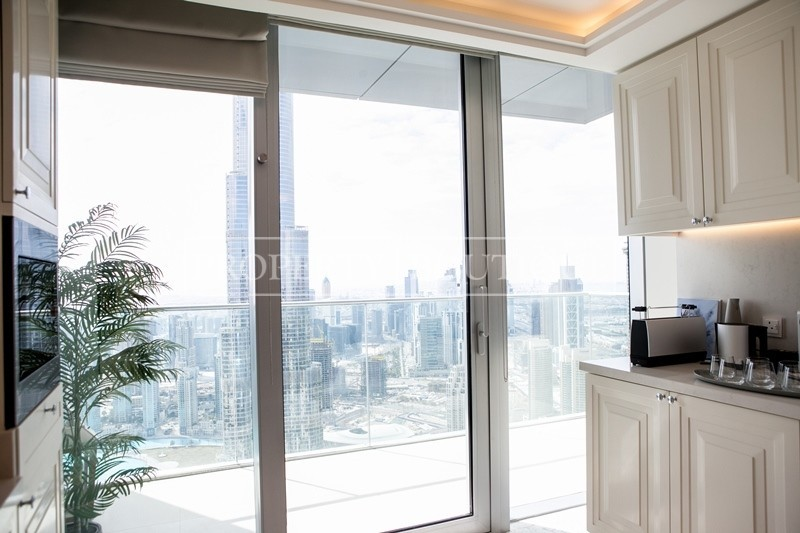 Full Burj and Fountain View | 5 Bedroom + Maid