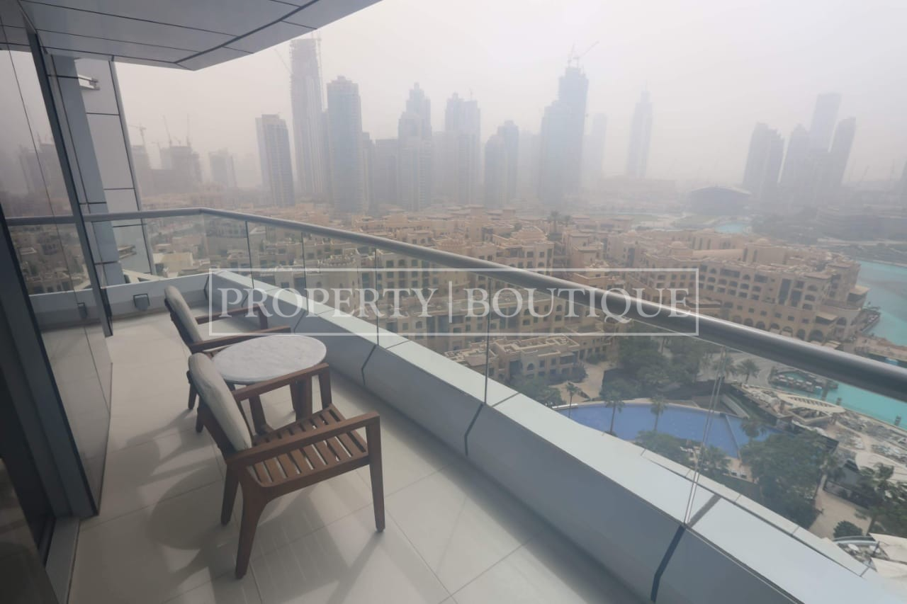 07 Unit   Burj Khalifa and Fountain View   1Bed