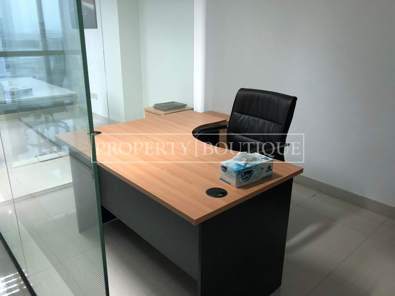 Fitted with partitions | Partially Furnished | JBC4