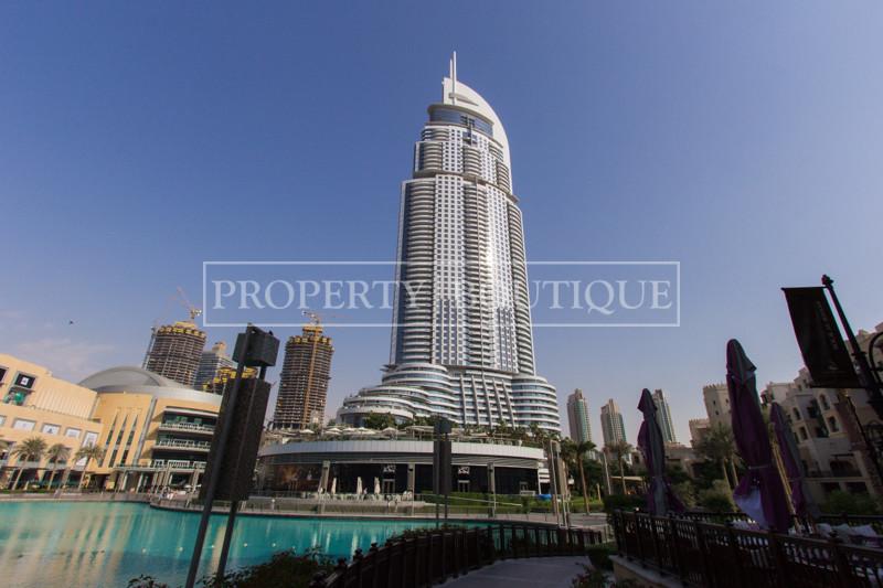 Full Burj Khalifa and Fountain view   Well Priced