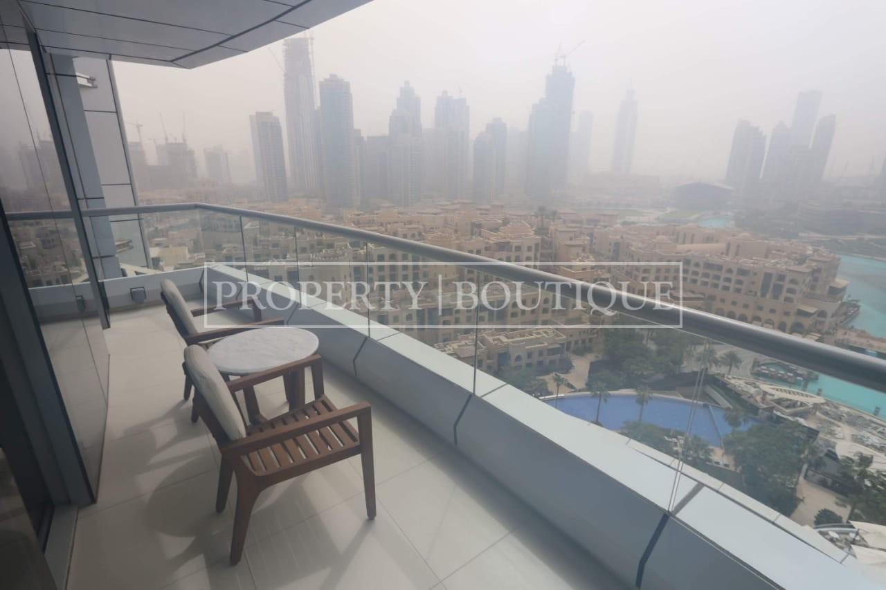 1 Bed + Study | Burj Khalifa and Fountain Views
