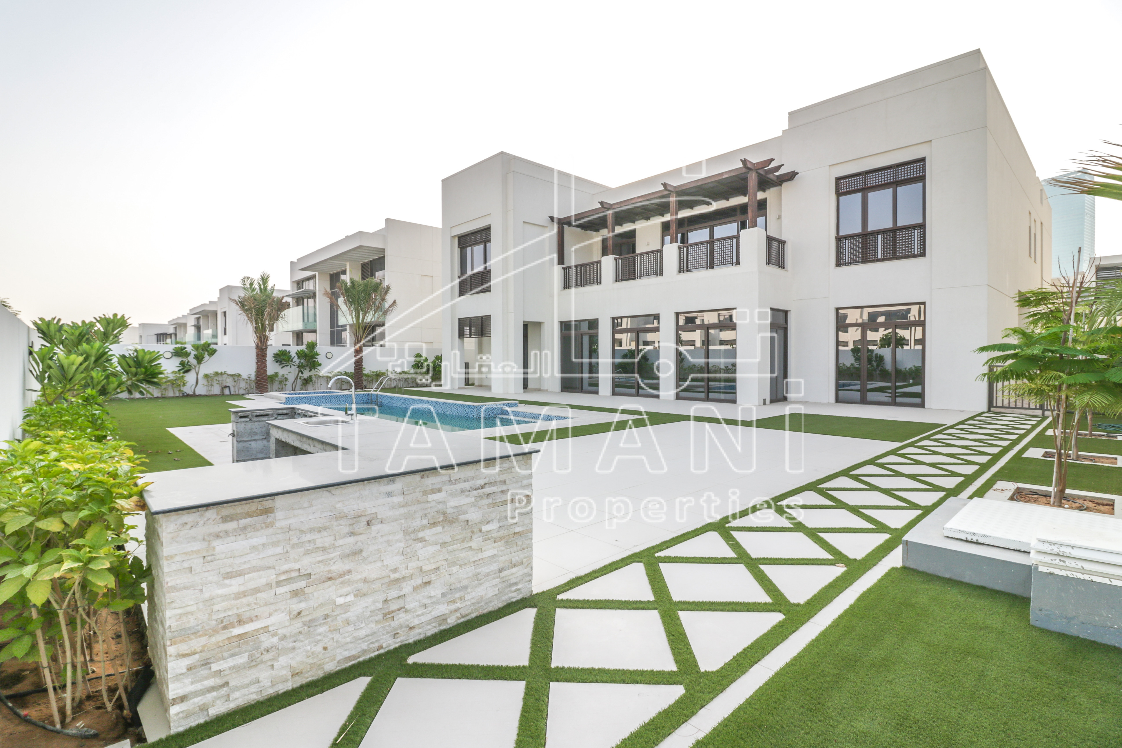Landscaped Modern Arabic 6BR Large Plot - District One