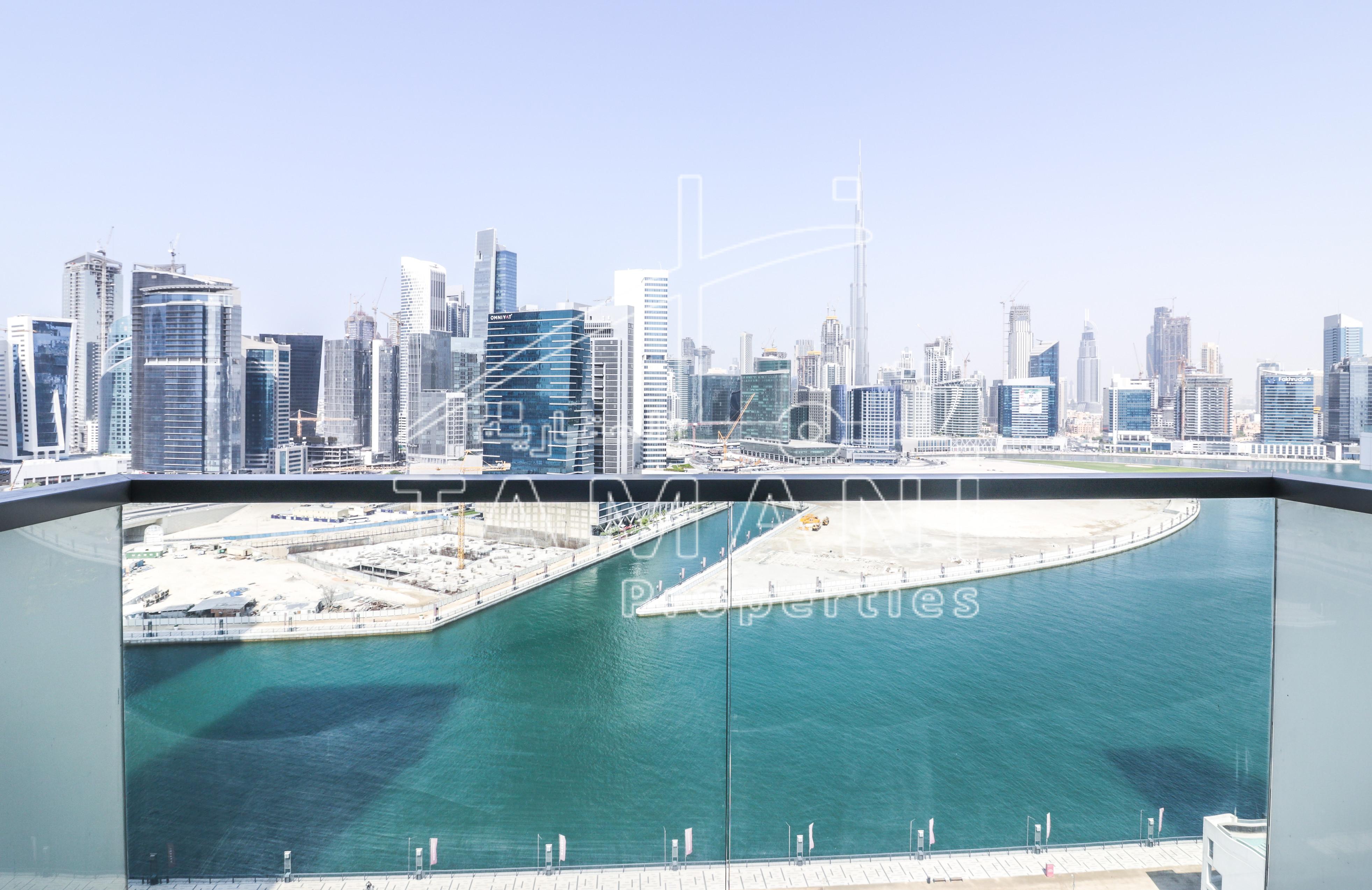BrandNew Full Lake and Burj Khalifa View - The Atria