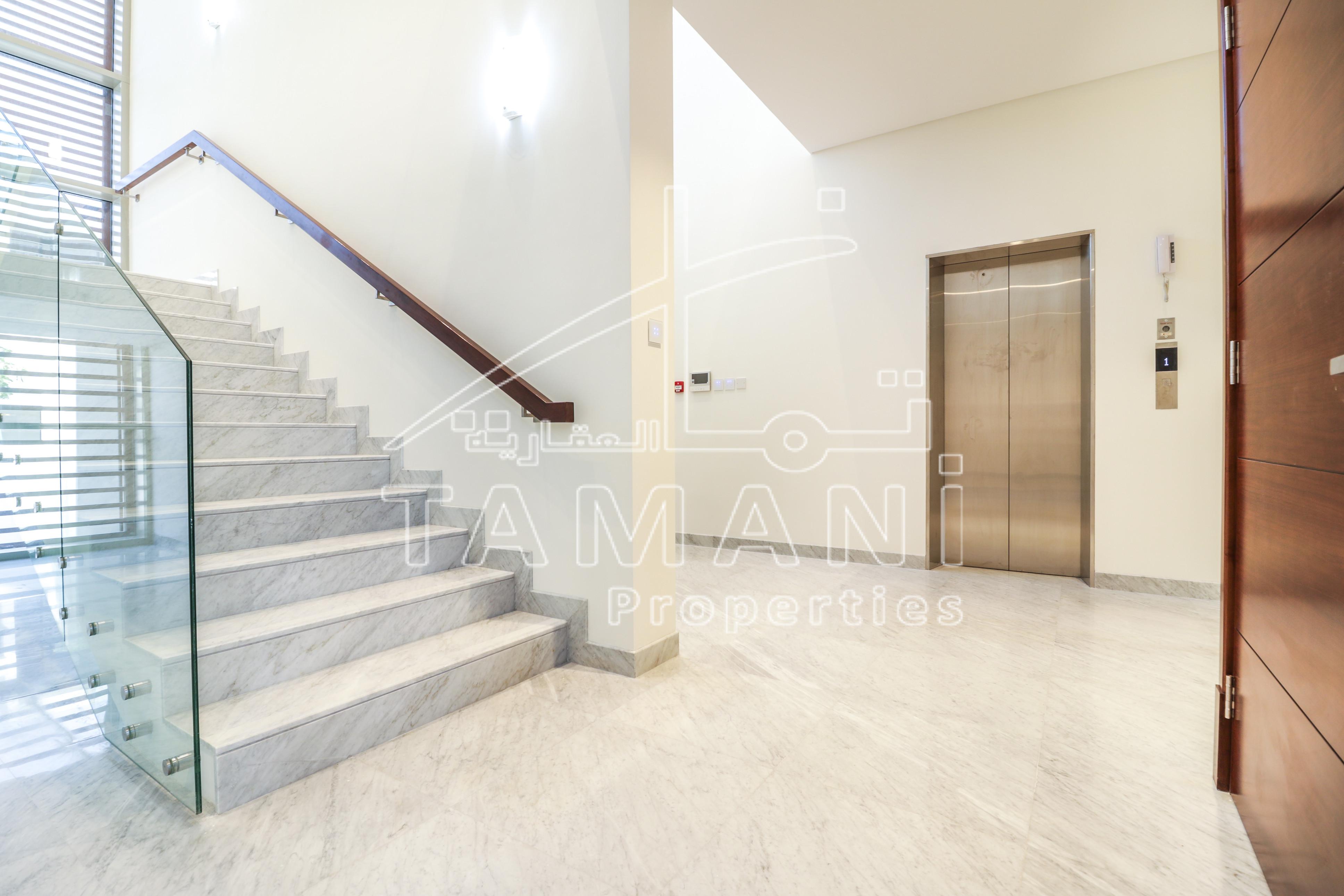 Elevator Contemporary Type B Corner Plot - District One