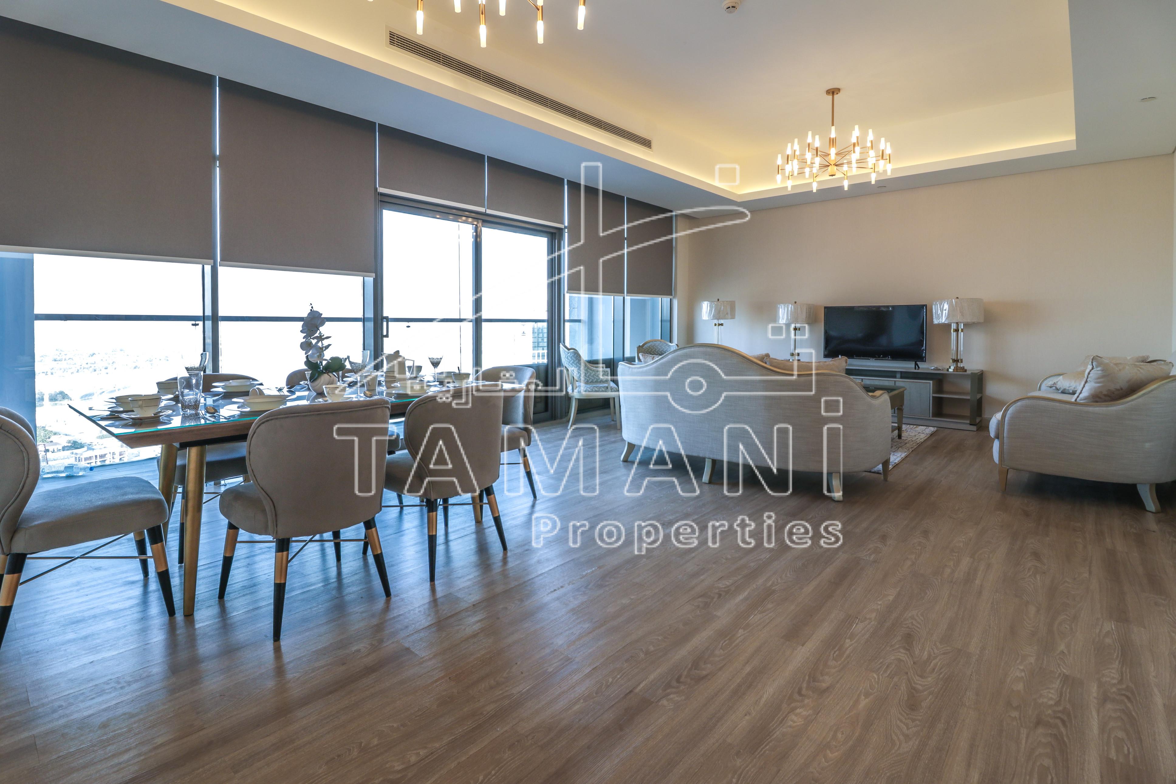 Brand new luxury furniture upgraded 150k - Mada Residences by ARTAR