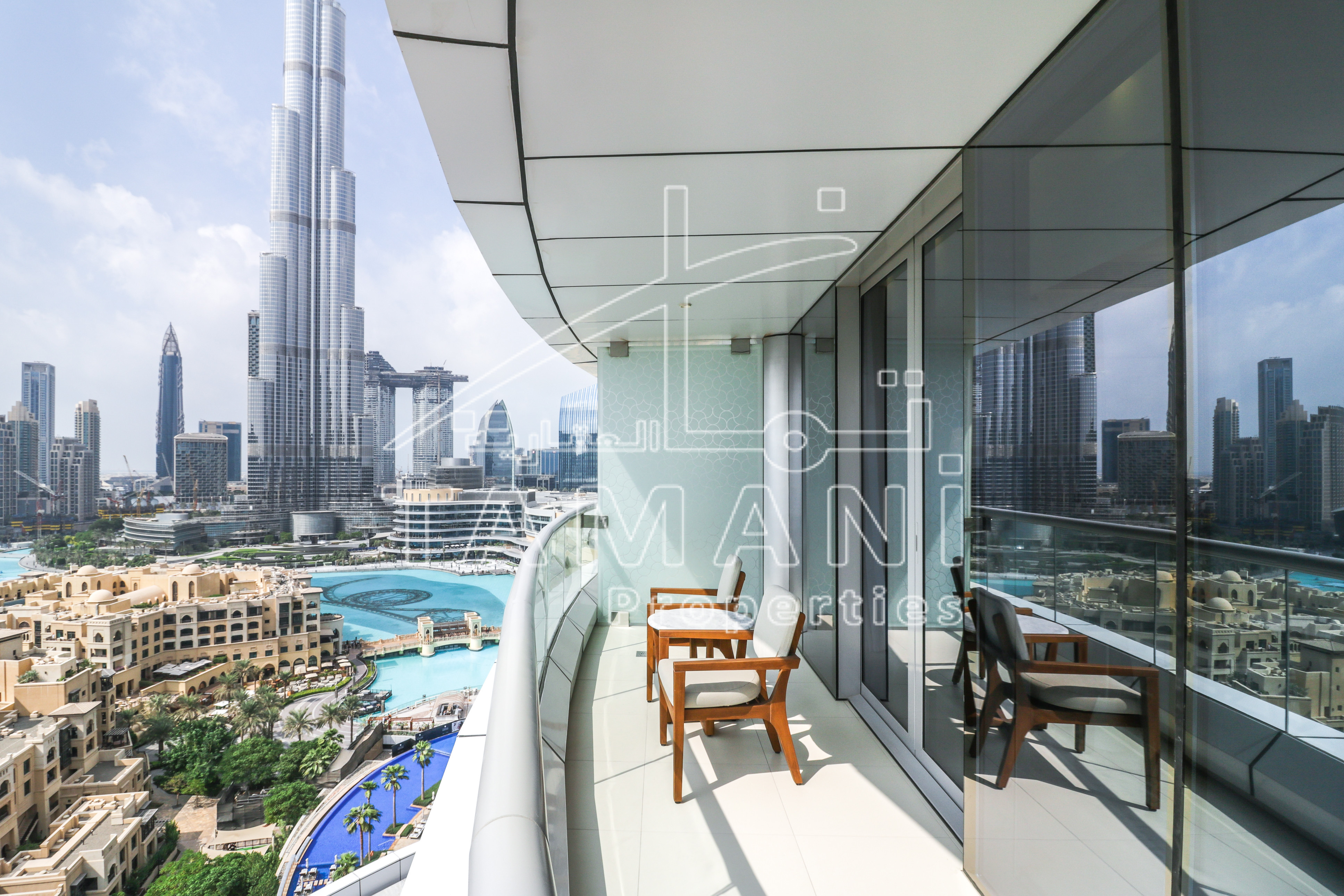 Watch Video Large Corner 2 BR with Burj View - The Address Downtown Hotel
