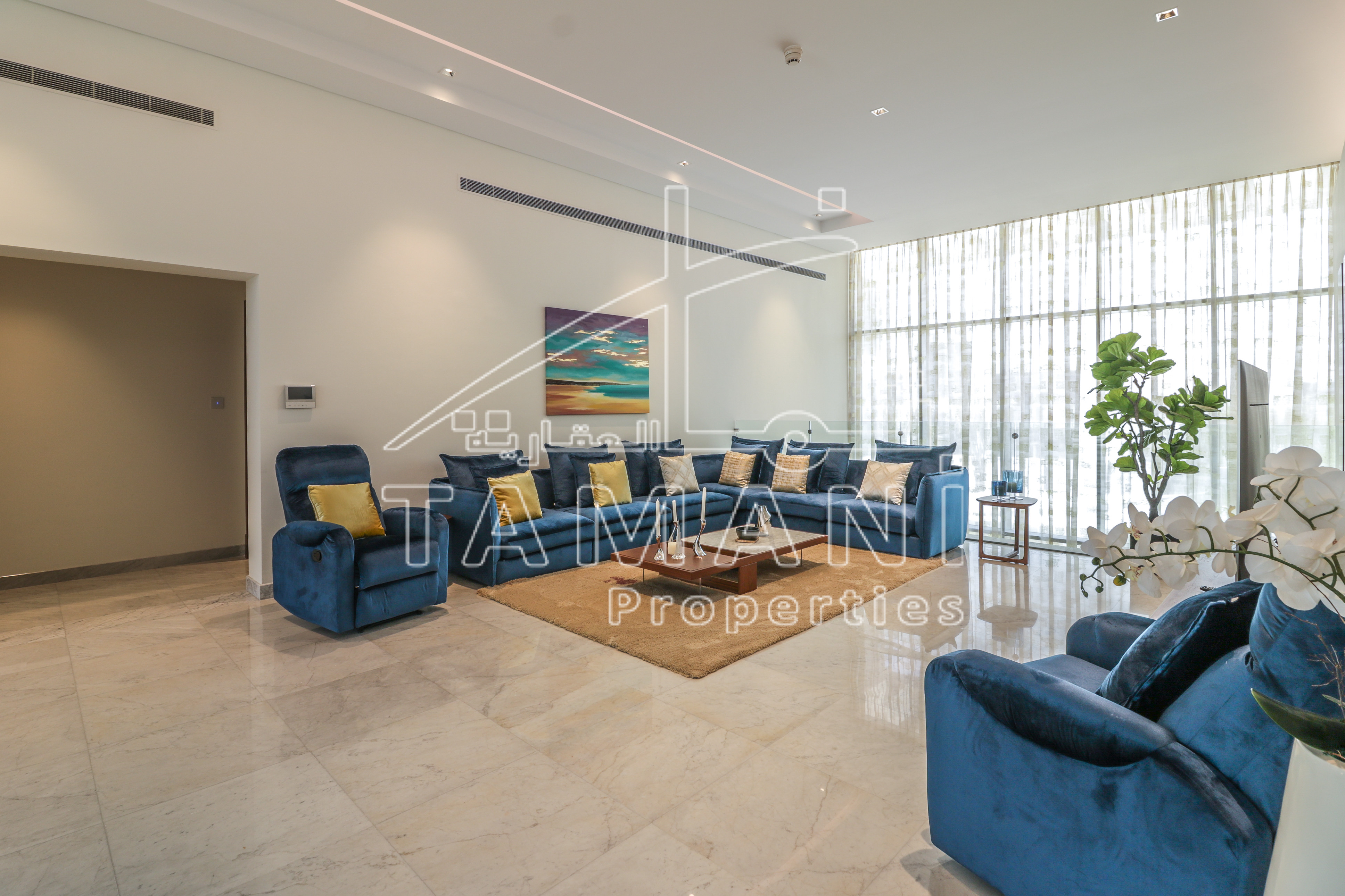 Fully Furnished Corner 6Bedroom Contemporary - District One