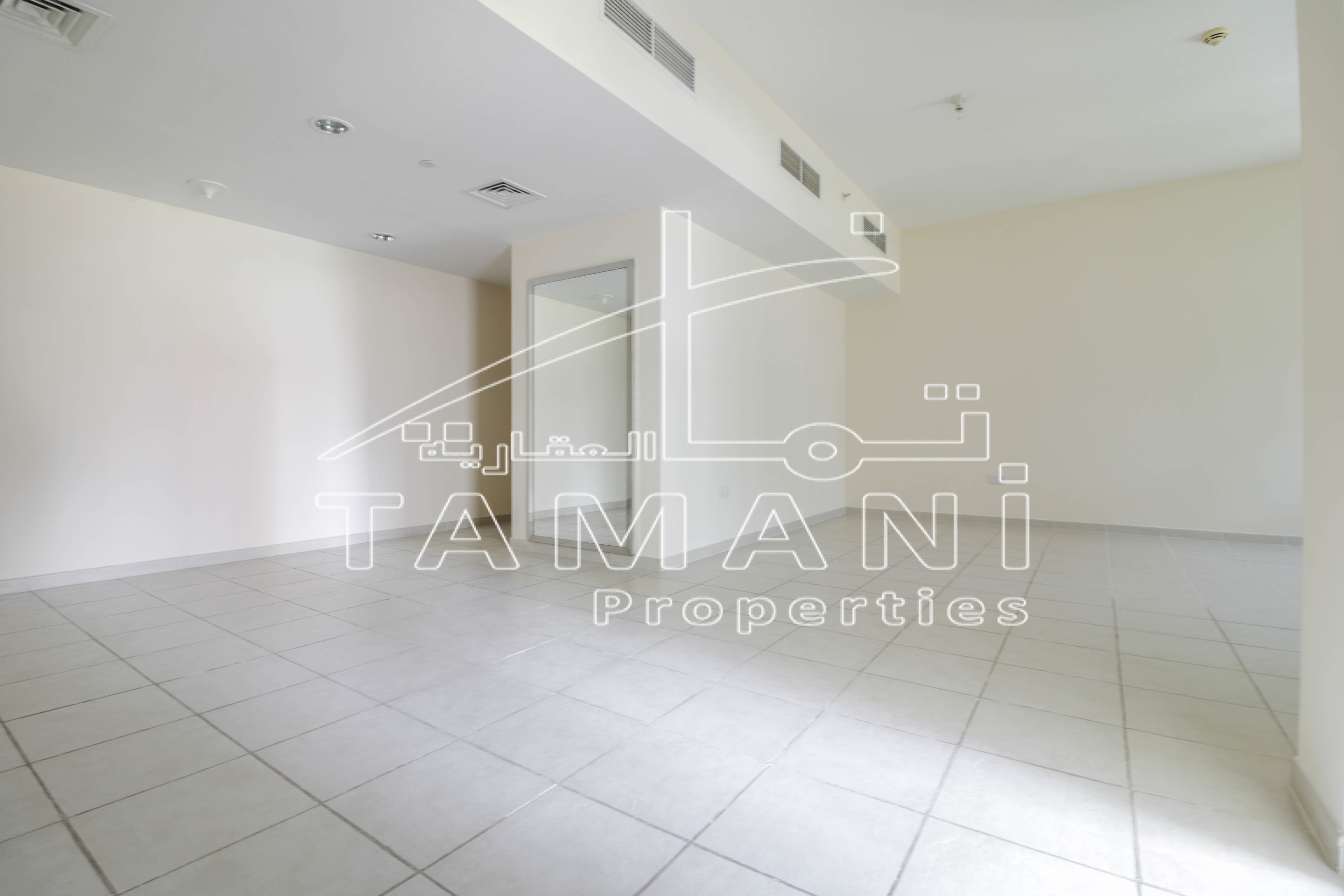 SPECIOUS 1 BR | RARE LAYOUT | BEST PRICE - Executive Towers