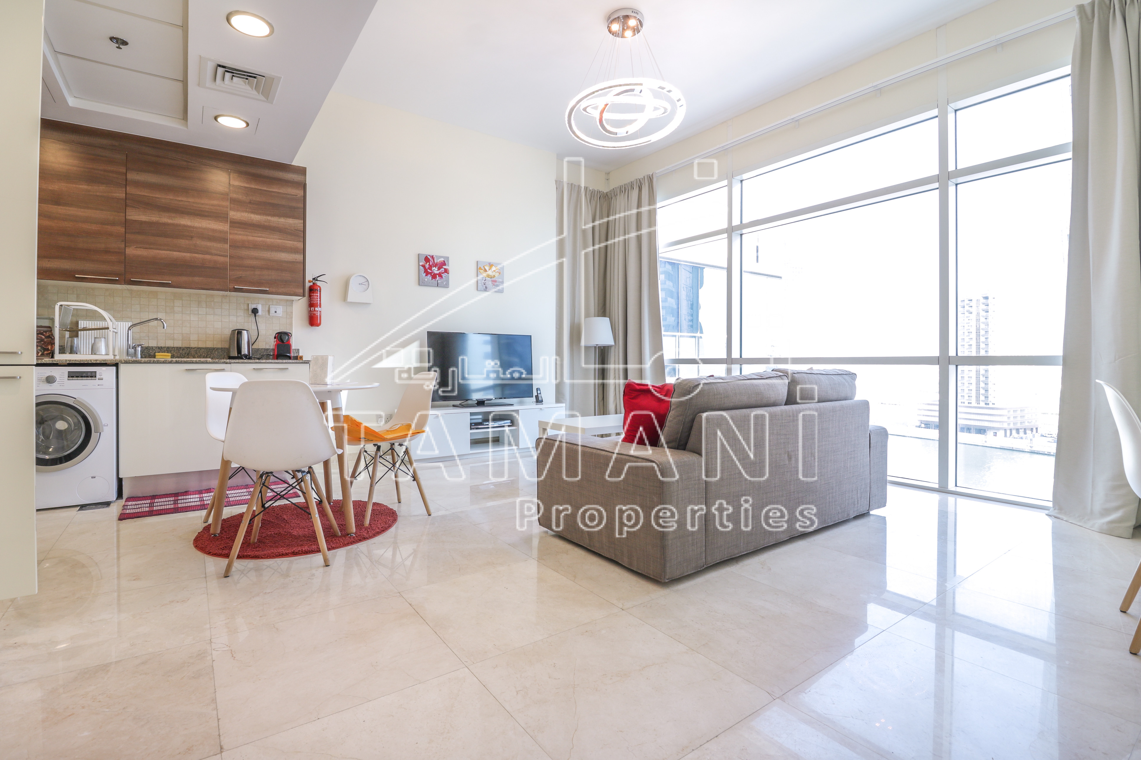 Upgraded 1Bedroom Fully Furnished 8% ROI - Bay Square