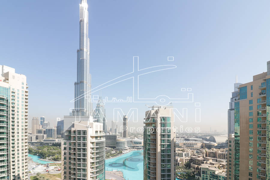 2Br Facing Burj and Fountain   2.8M ONLY - 29 Burj Boulevard