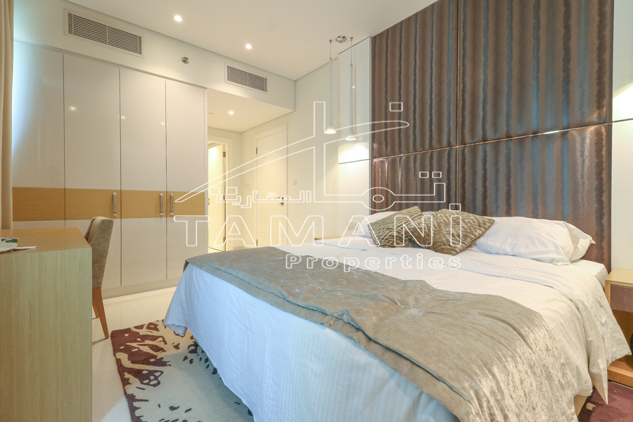 Luxury Furnished 1 Bedroom Hotel Apartment - DAMAC Maison Canal Views