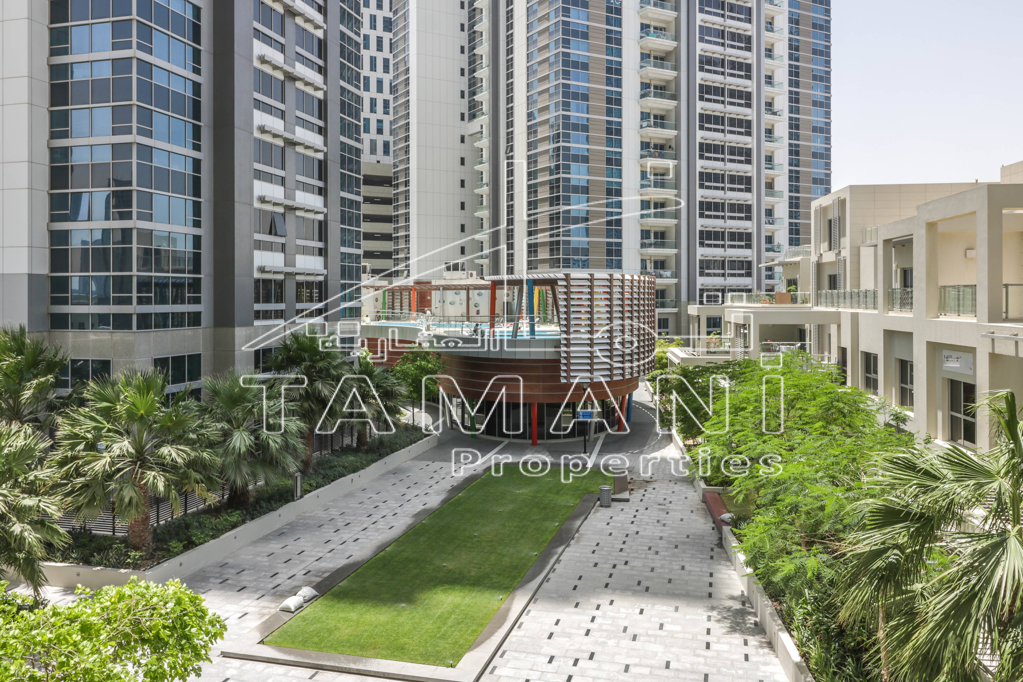 Converted 1Br | Near Metro | Pool view - Executive Towers