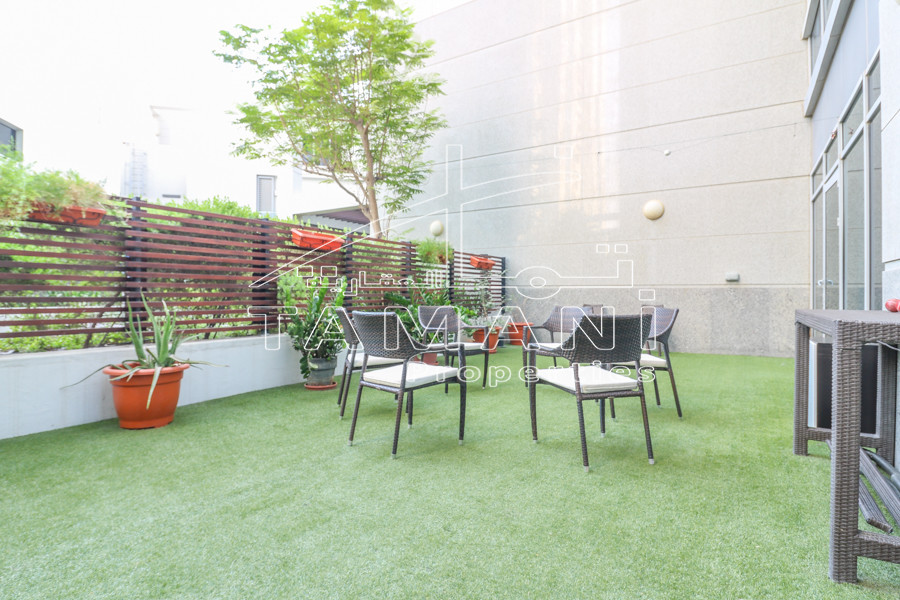 Furnished | Duplex 3br+maid | Private garden - Executive Towers