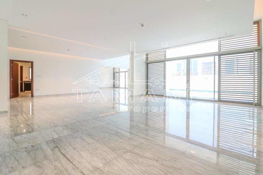 9100 Plot 5BR Full Skyline And Burj View - District One