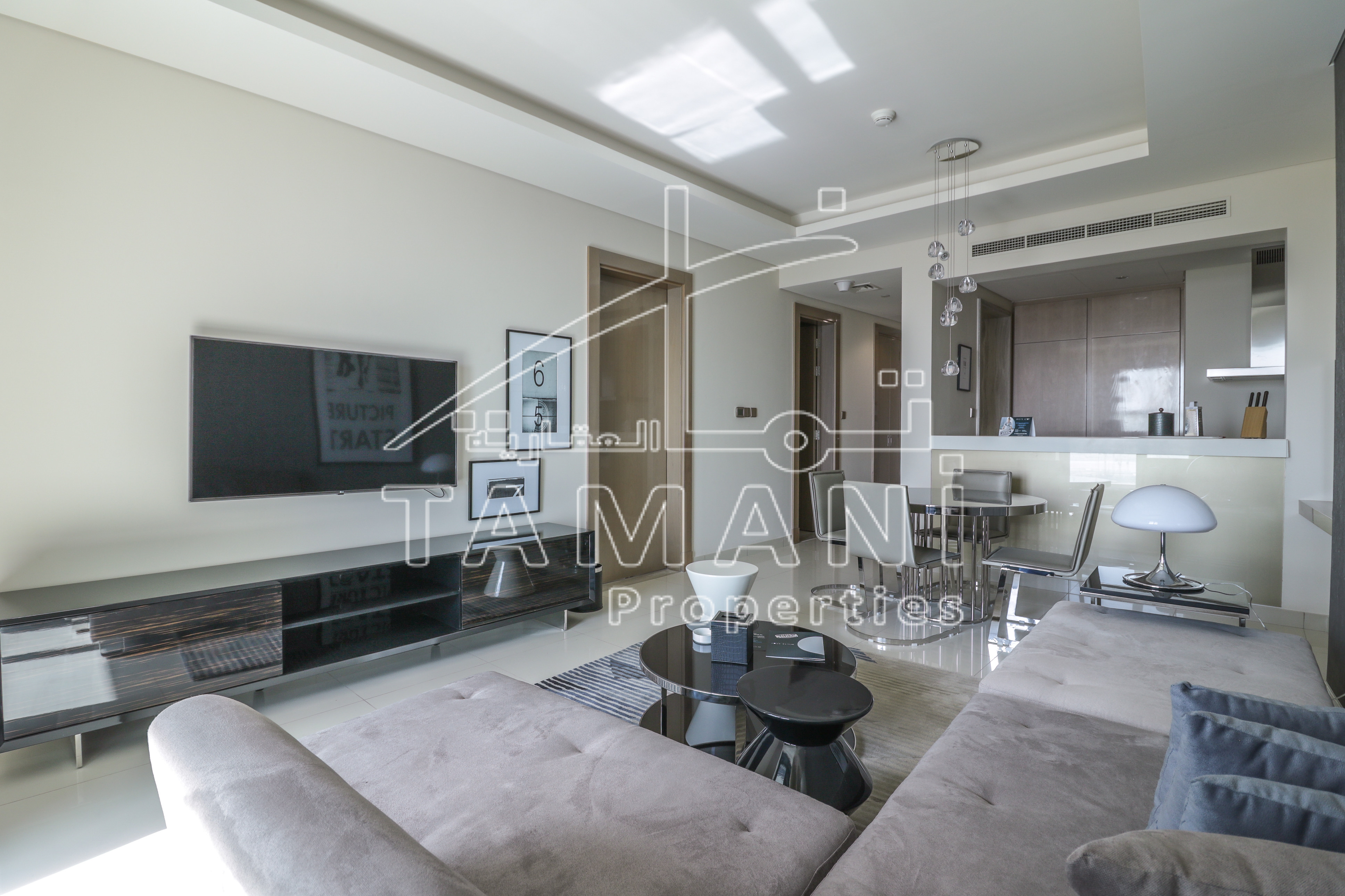 Luxury Furnished | Open View | High Floor - DAMAC Towers by Paramount