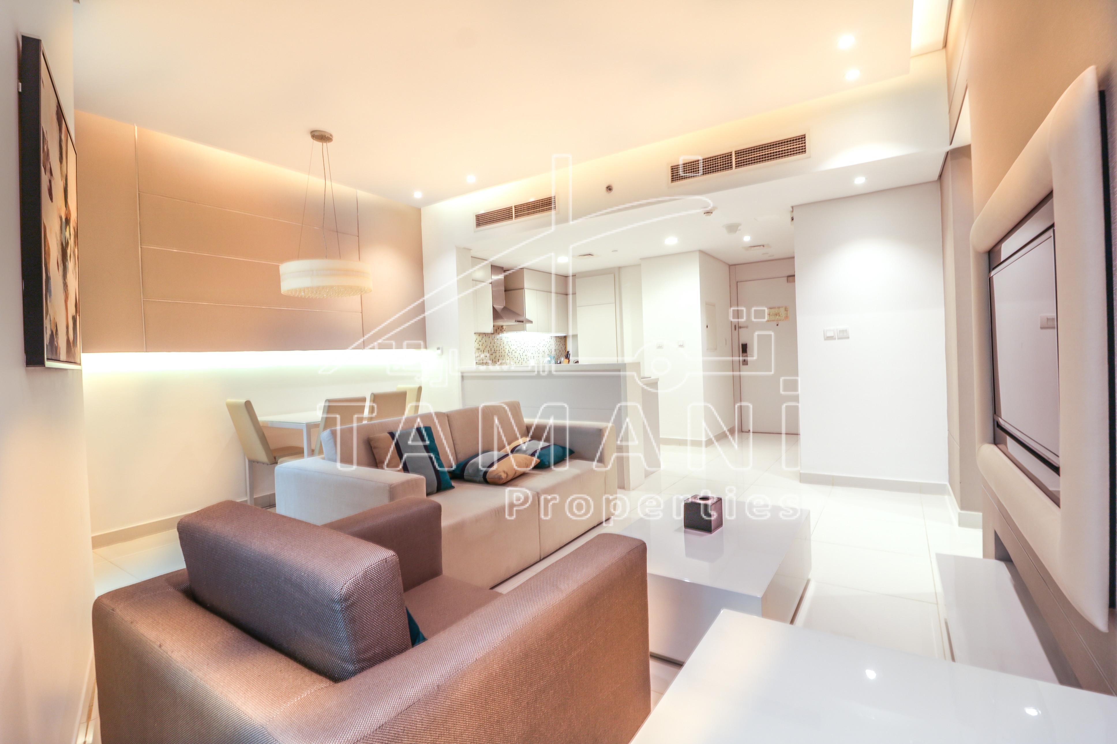 En-suite furnished 2 BR for 1.1 M only!! - DAMAC Maison The Vogue