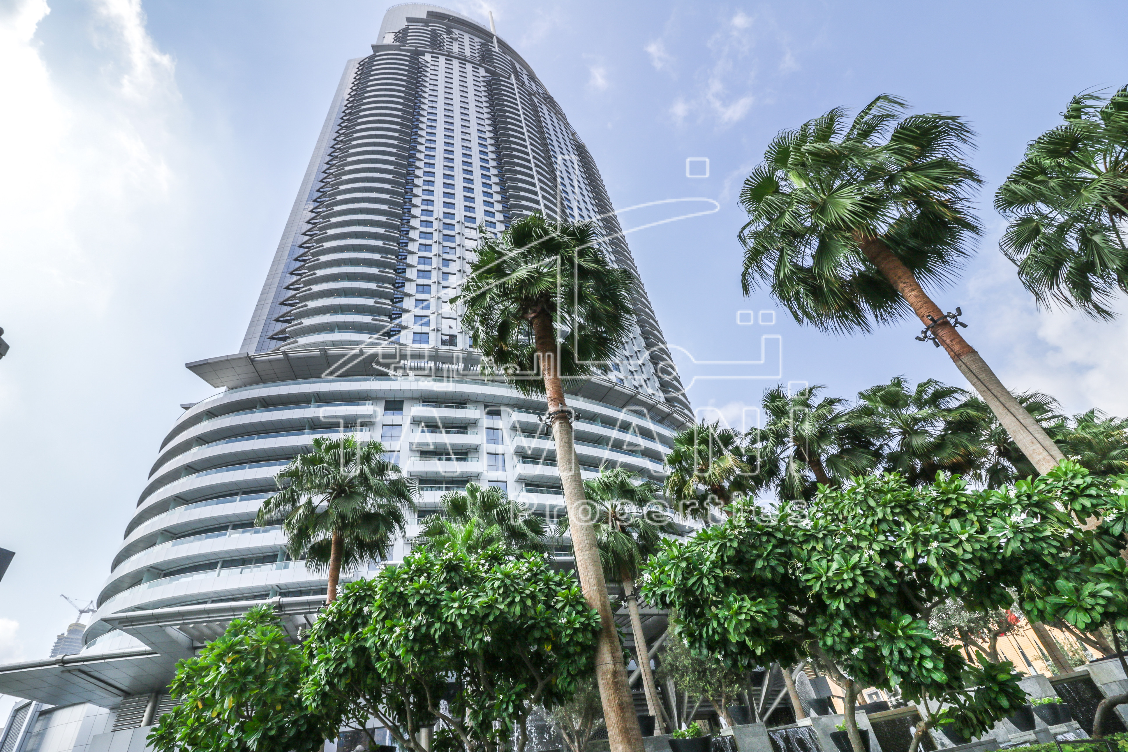 Watch Video Large Corner 2 BR Burj View. - The Address Downtown Hotel