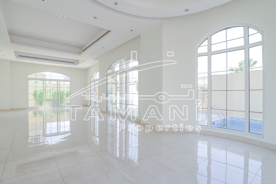 Facing/Backing Green Park | Pool | Marble Flooring – Hacienda