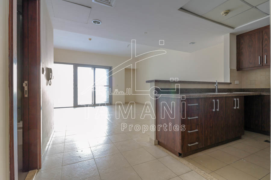 Large Studio |Kitchen appliances|Balcony - Executive Towers