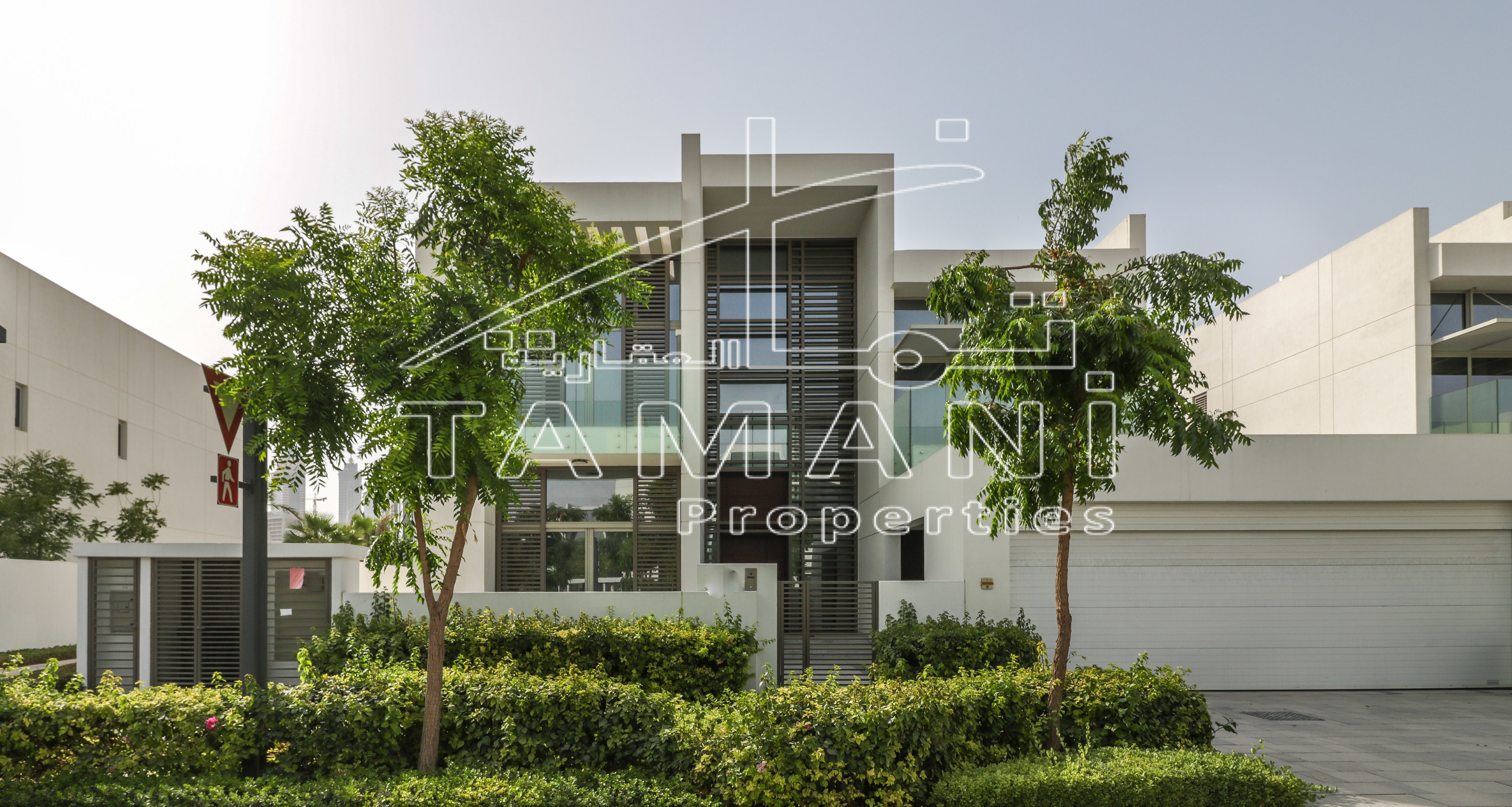 11500 SF Plot Contemporary Sky line view - District One