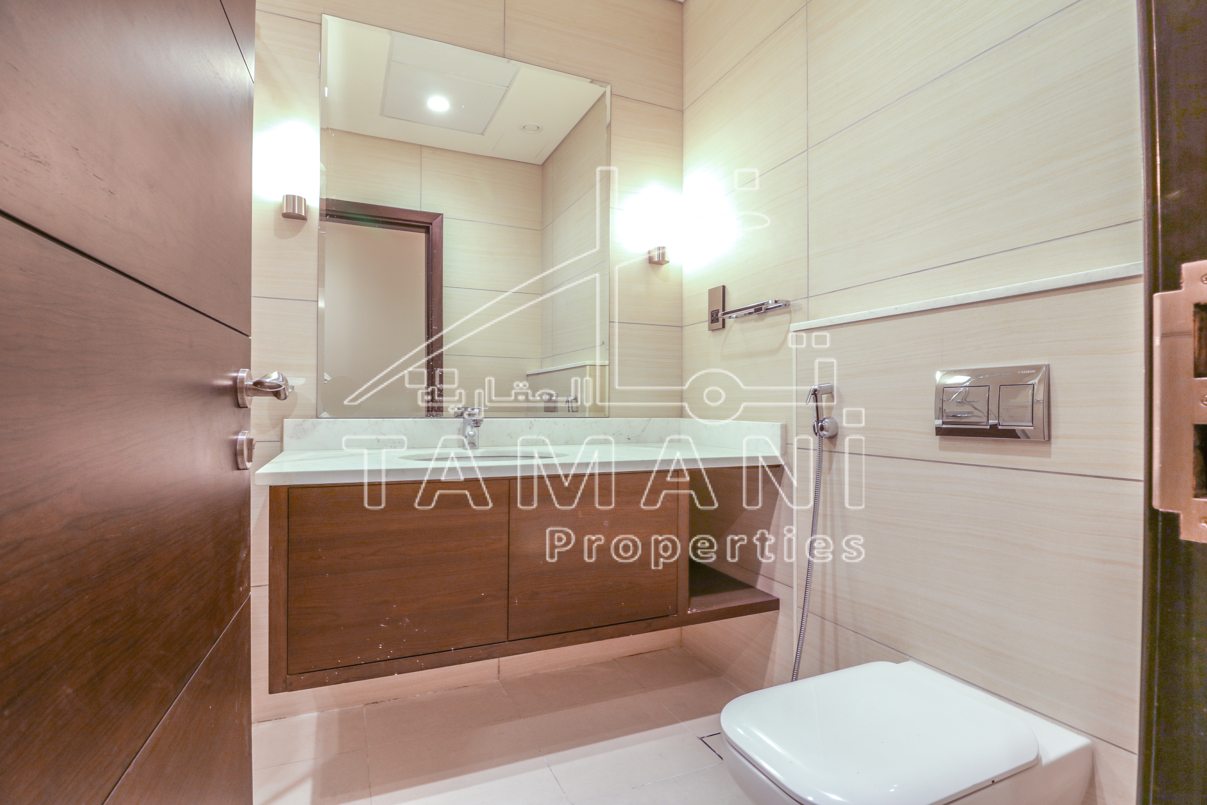 Brand New  | Closed Kitchen |  2 Bedroom - Bahwan Tower Downtown