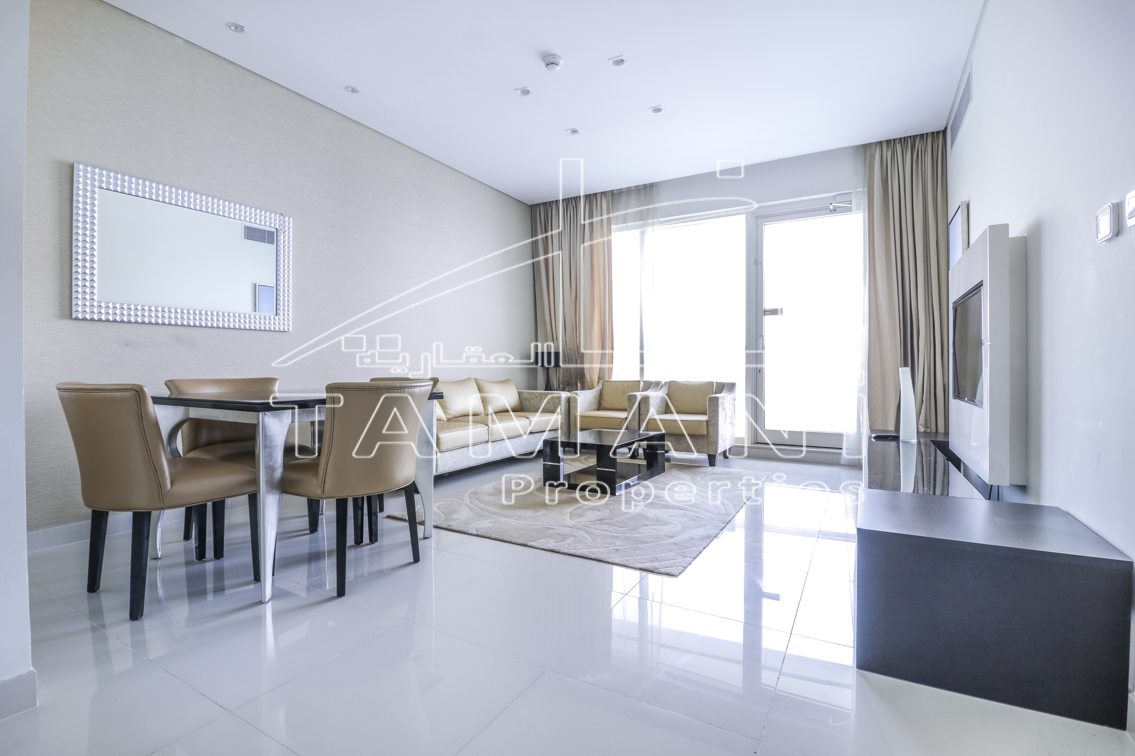 Full Lake View 2BR+Maid's Room HighFloor - DAMAC Maison Canal Views