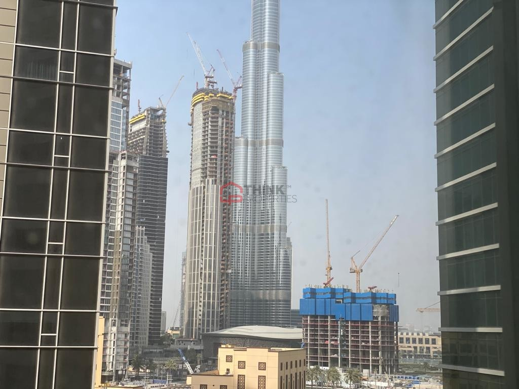 Burj Khalifa View Fully Fitted Office 3 Parkings