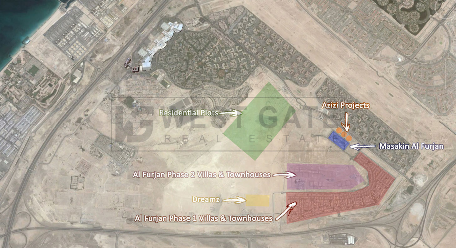 4-townhouse-plot-with-design-building-permit-al-furjan-west
