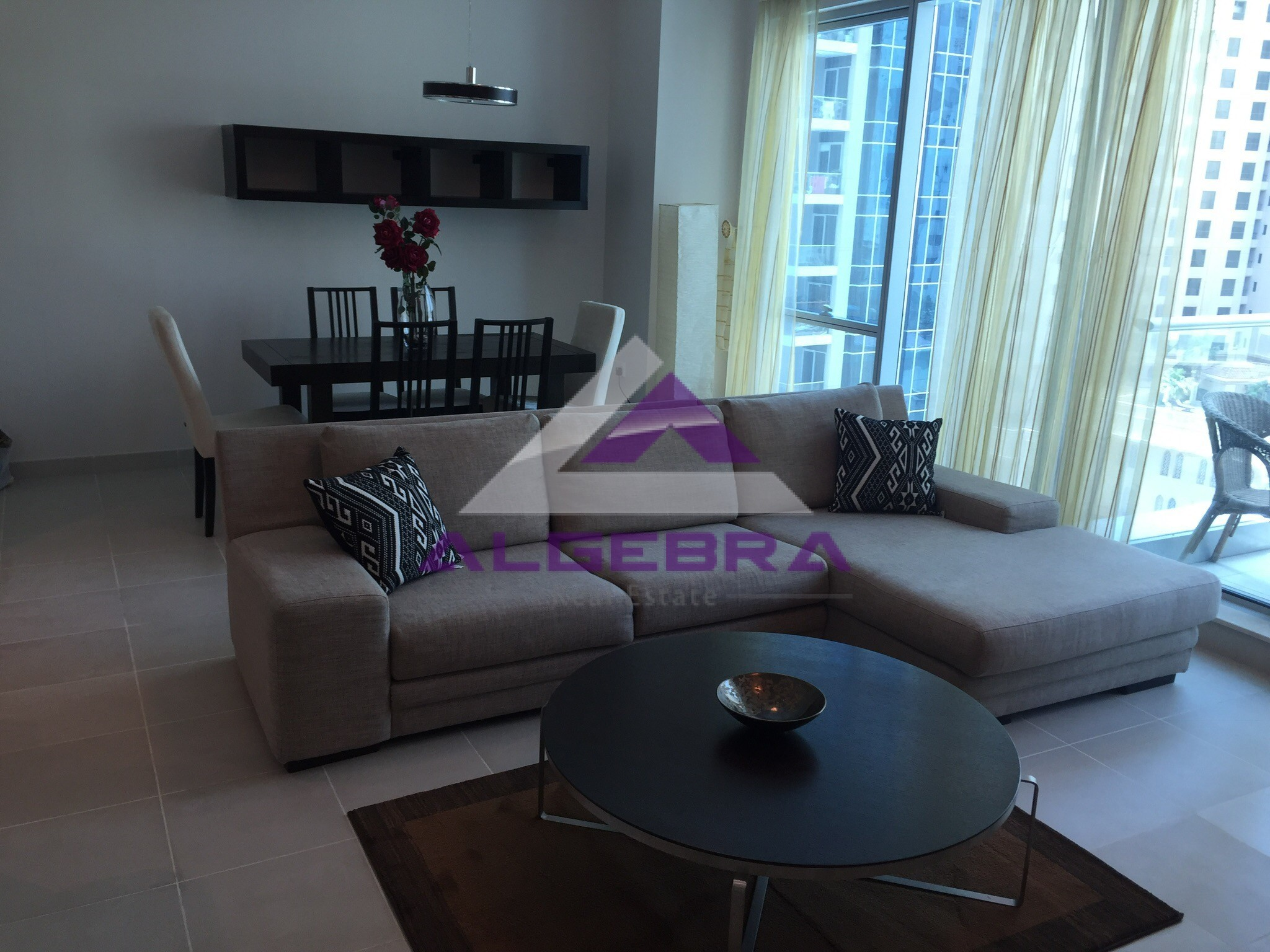 Modern & Stylish - Fully Furnished - Large 1 BR with Sea view