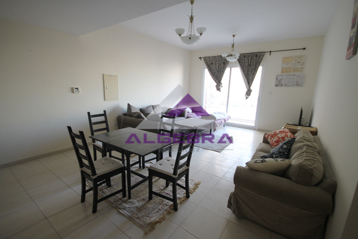 Emirates Garden | 1Bedroom | Furnished | Pool View