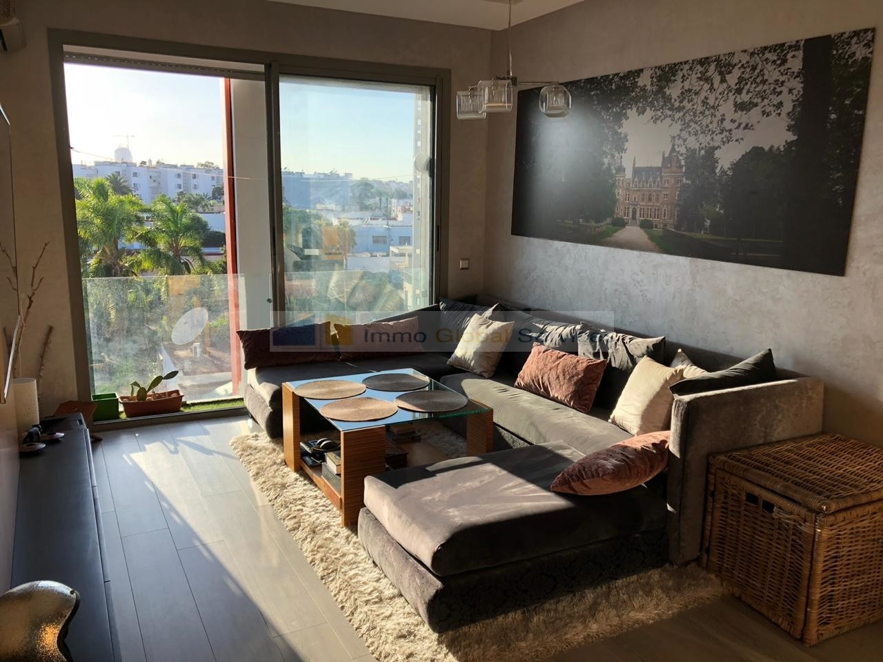 Location <strong>Appartement</strong> Casablanca Riviera <strong>55 m2</strong>