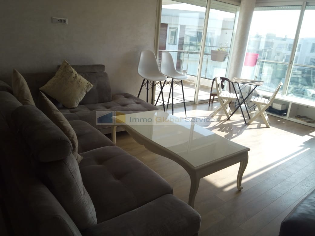 Location <strong>Appartement</strong> Bouskoura Casa Green Town <strong>140 m2</strong> - 3 chambre(s)
