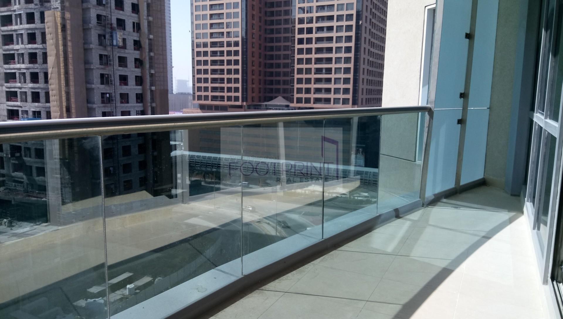 Maids Room | Balcony |Minute walk Metro.