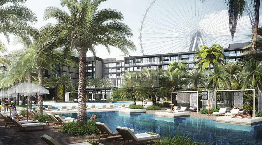 Dubai Eye + Sea View,Post handover, 1Bed