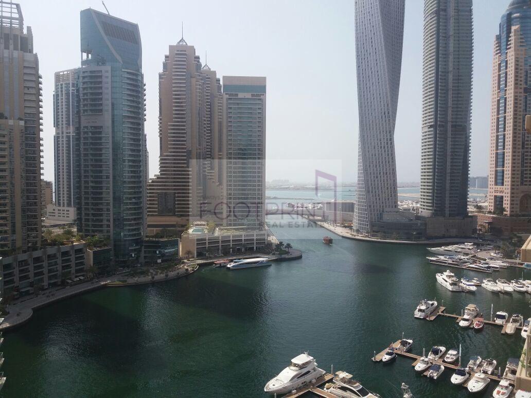 Marina View 1 BHK, Al Habtoor, Spacious