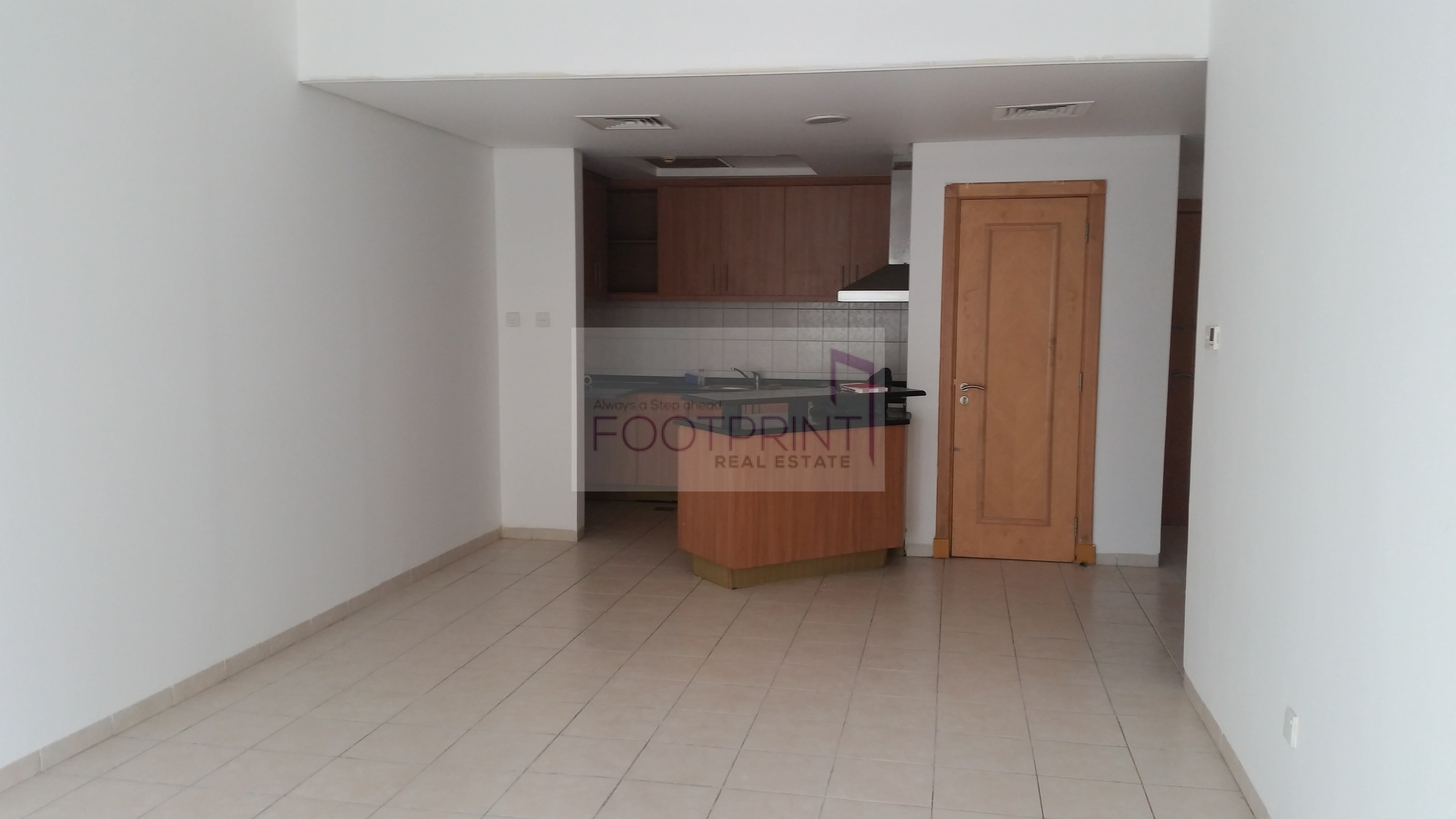 Large 1BR Hall, Chiller Free 63 k 4 chqs