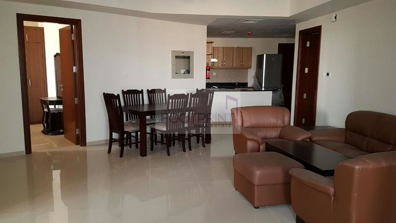 SPACIOUS AND  FURNISHED 2 BHK IN ELITE 9