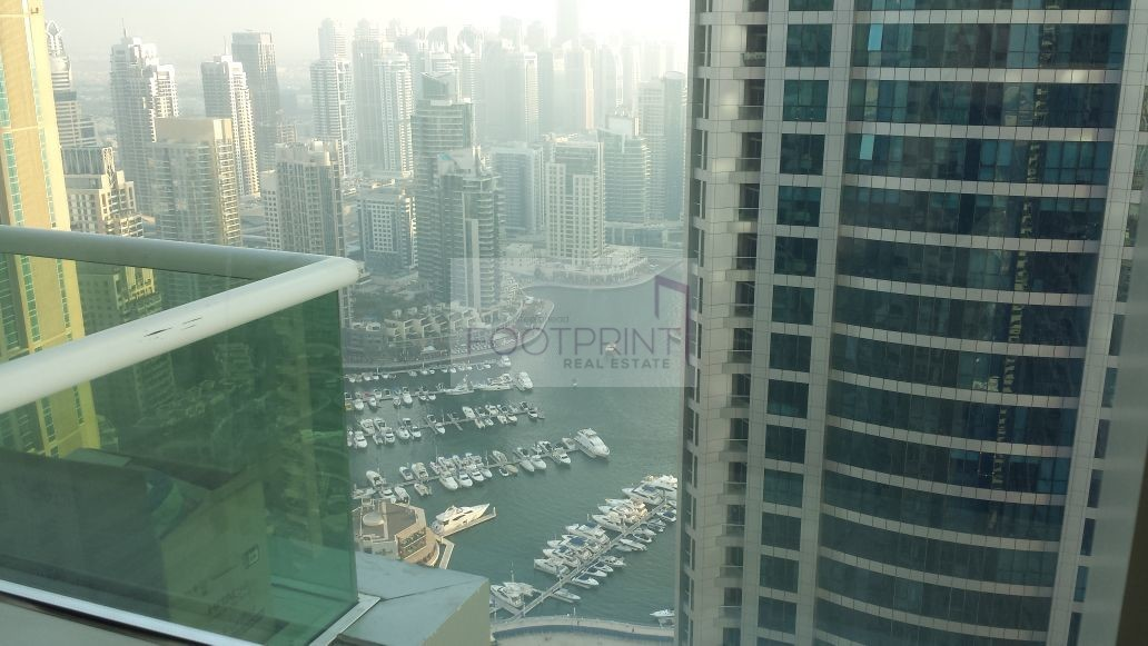 High Floor 2 BHK,Marina Pinnacle, Rented