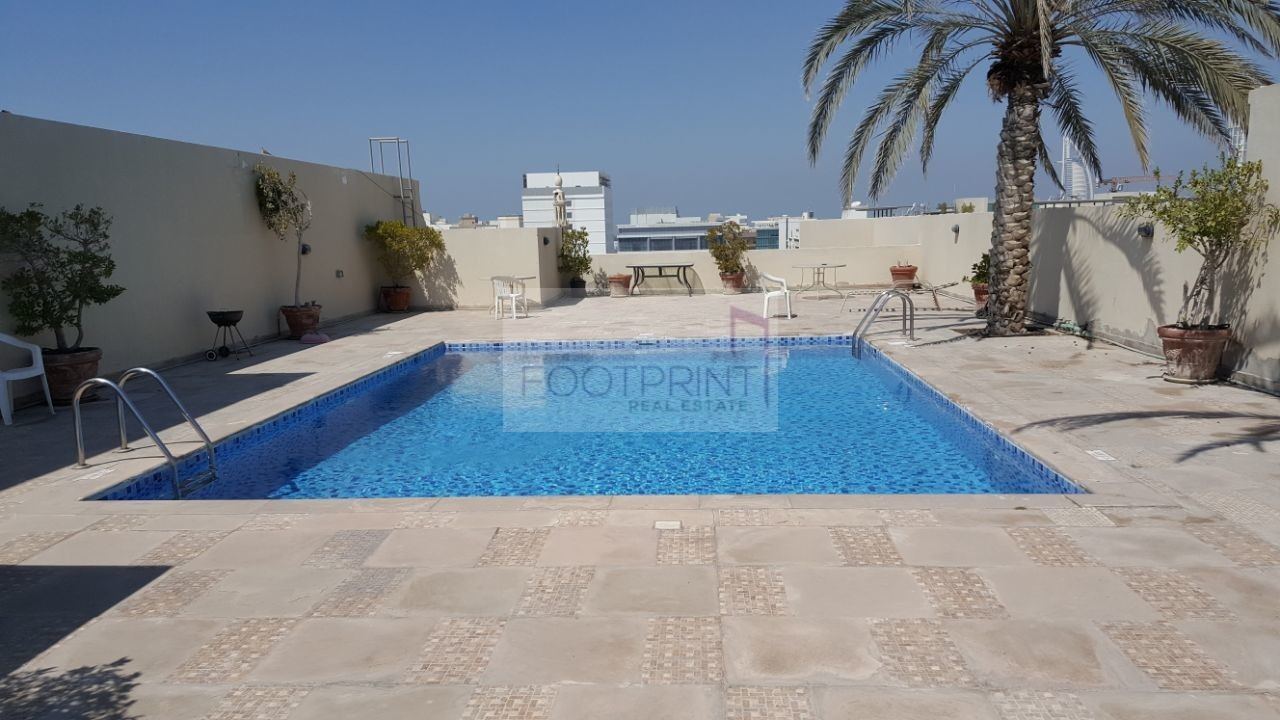 Bright and Large 1 BHK in |  Al Barsha 1