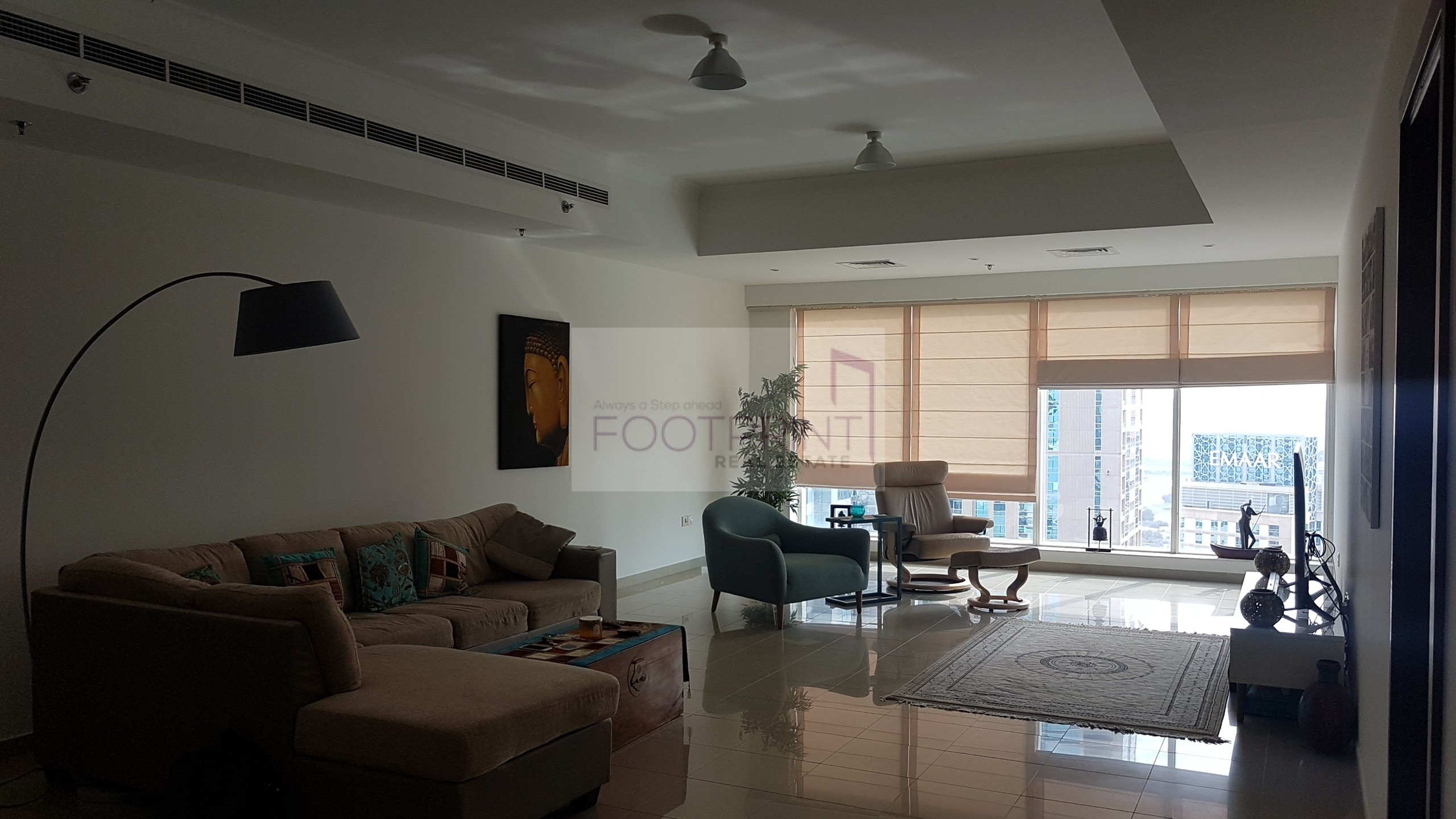 ! Huge 3Br + Maid 2Parkings Marina View