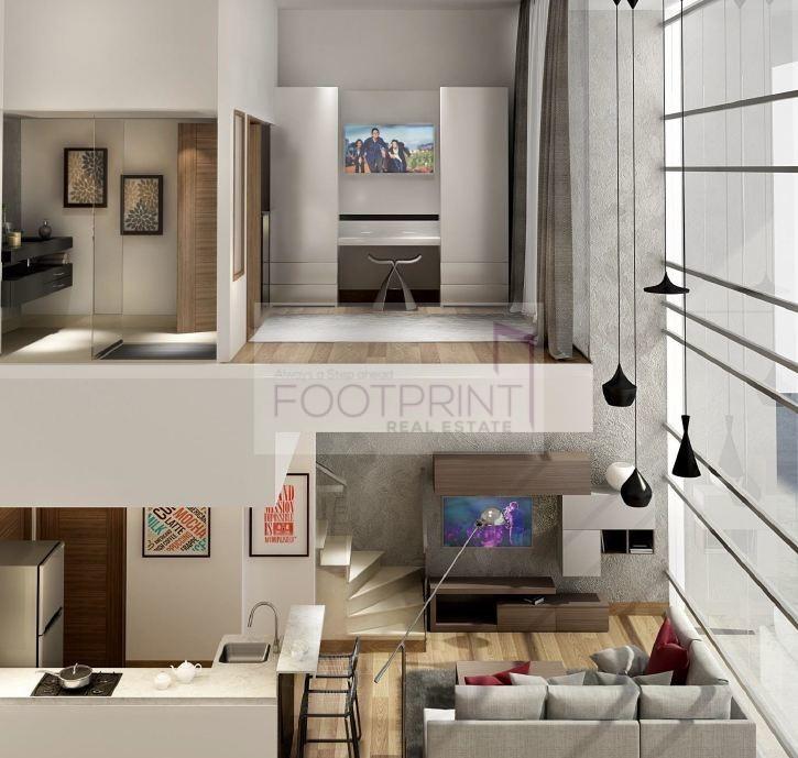 Duplex 1 Bed Unique Layout | 2% Discount