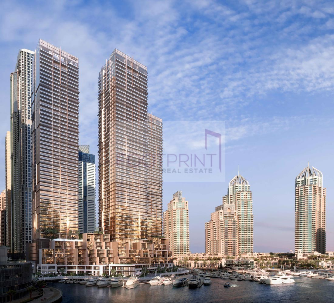 High End Brand New 2 Bed,Marina Gate 1,