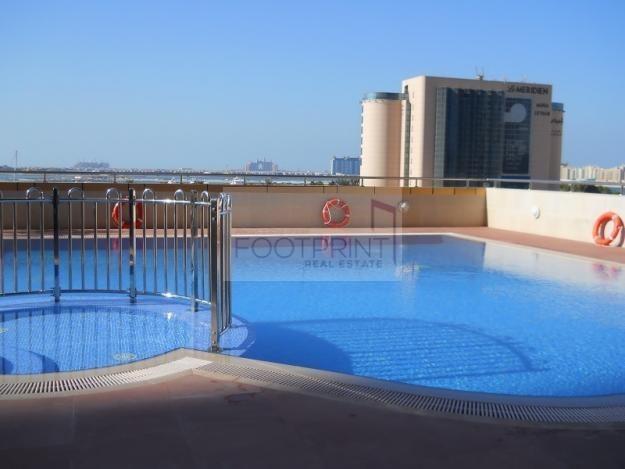 Spacious 1 bed,Elite Residence, Sea View