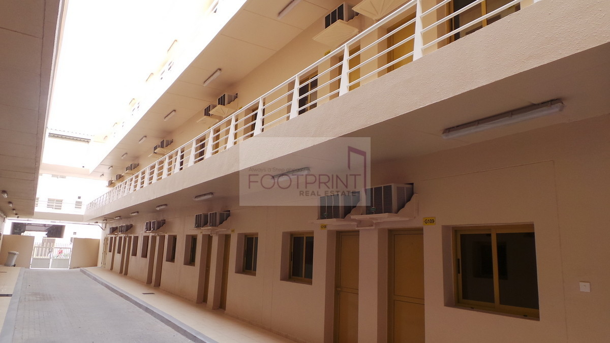 Jebel Ali Full camp For Rent 200 Rooms