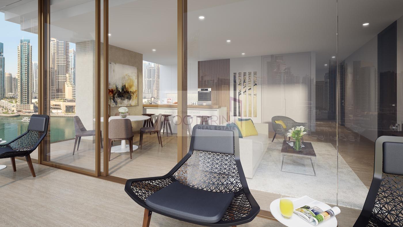 Full Marina View, High Floor, 3 bedroom