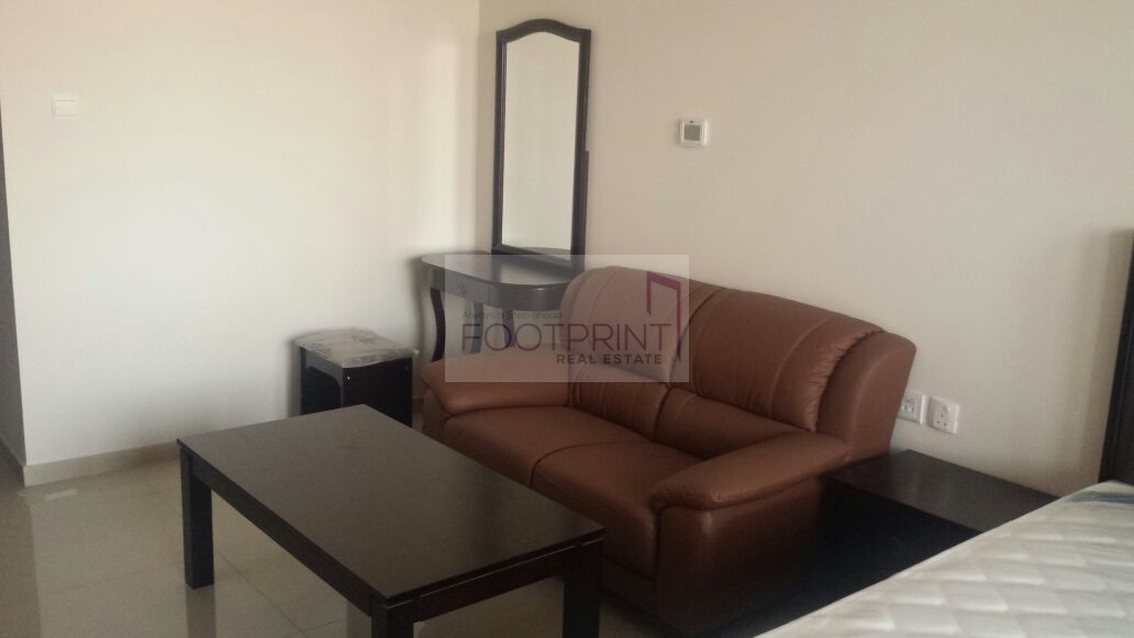 12 Cheques Furnished Studio In Elite 9!!