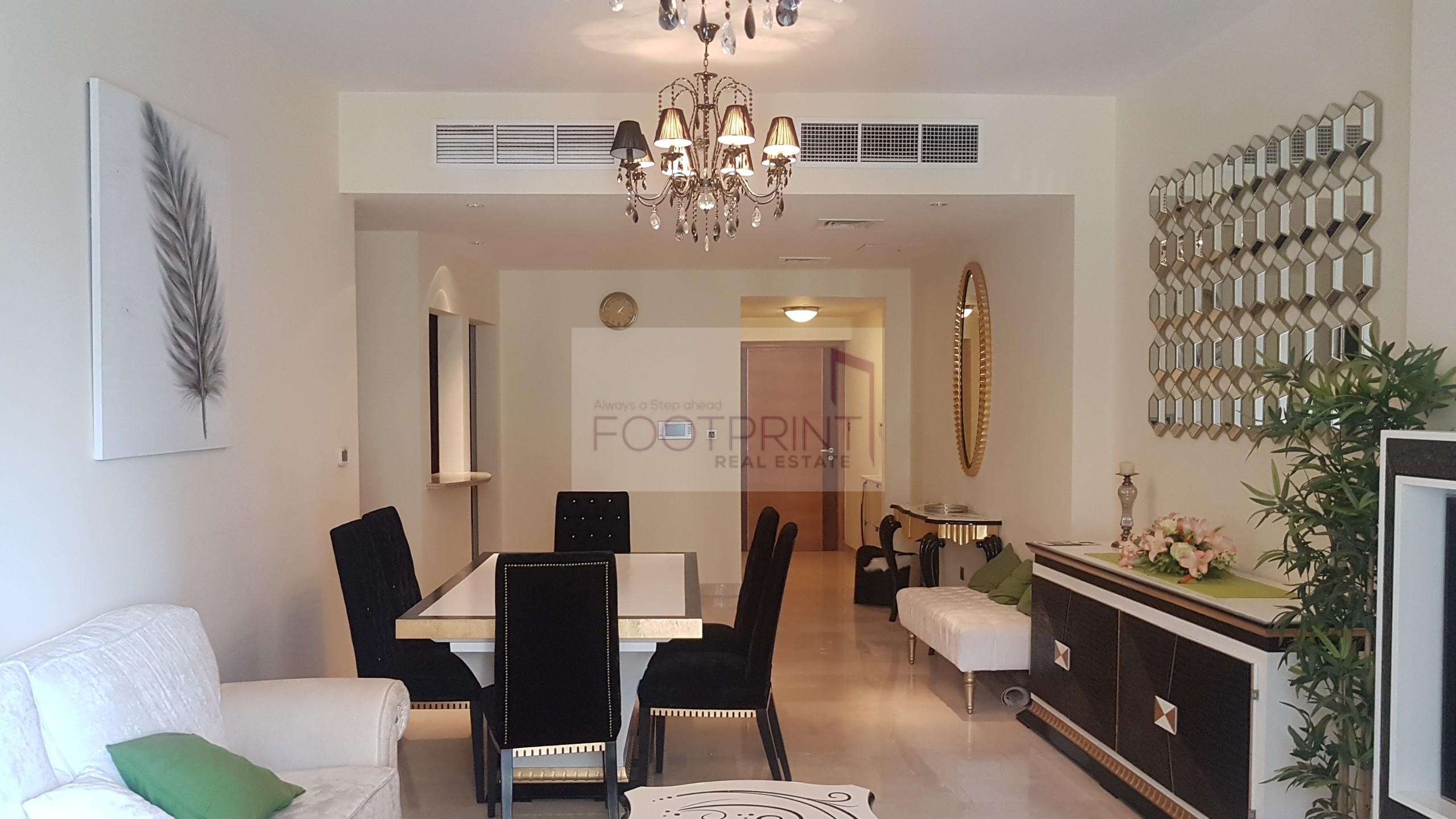 Fully Furnished 2Br + Storage Good Tower