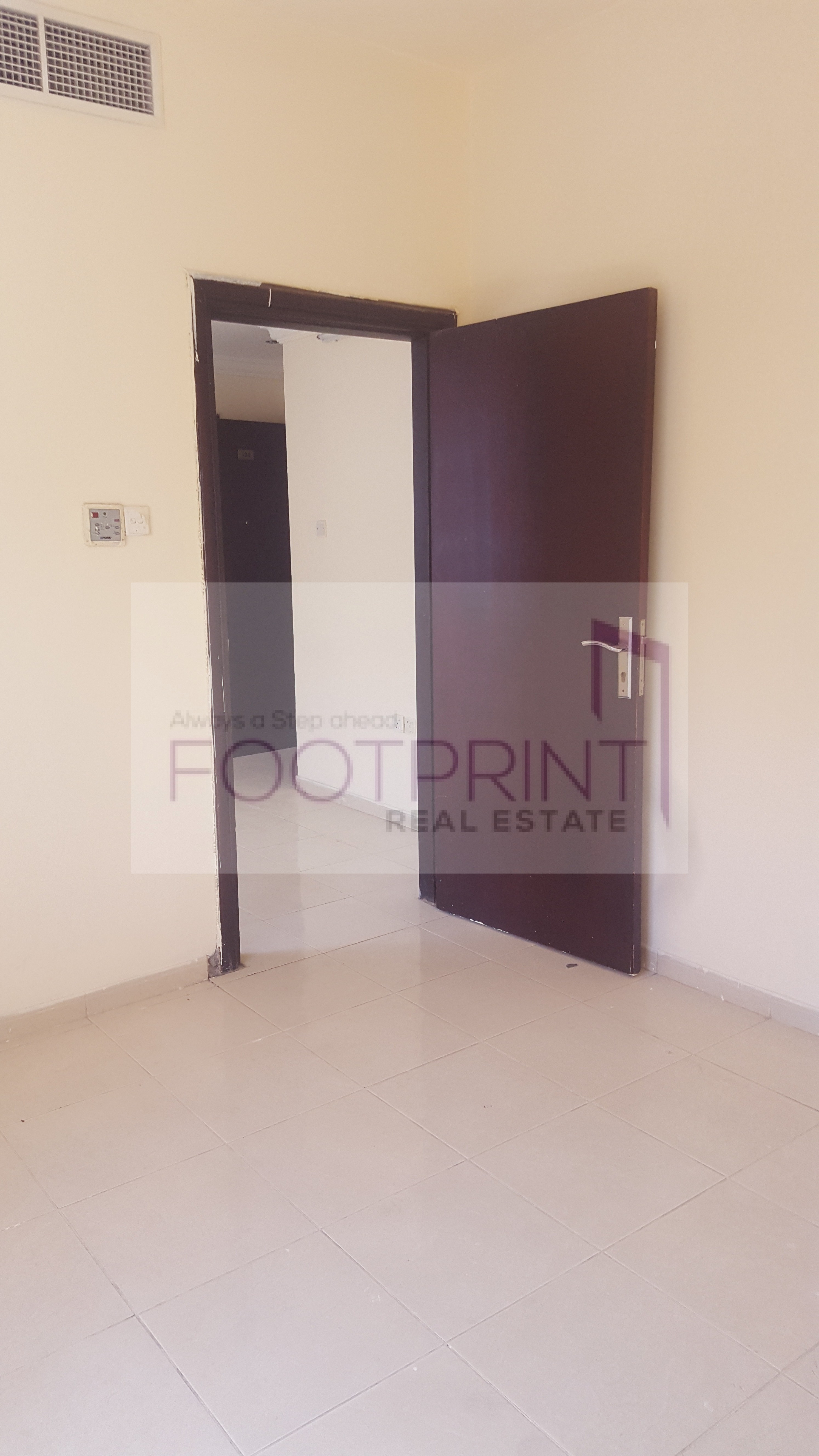 1bhk For Rent with balcony central A/C IN University City SHARJAH IN @24000 4 chq