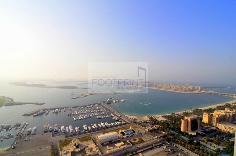 Full Sea View, 2 BR,Damac Heights,Luxury